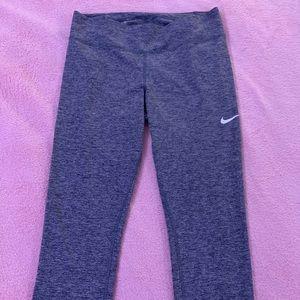 Gray Nike leggings